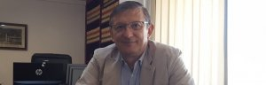 L'advocat reusenc Pere Lluís Huguet al seu despatx de la plaça Prim de Reus