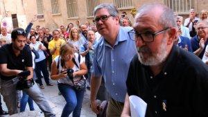 L'alcalde de Roquetes, Paco Gas ha declarat en el jutjat de Tortosa aquest dijous