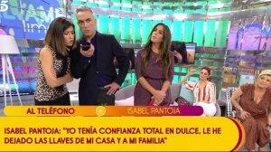 Llamada de Isabel Pantoja a Telecinco