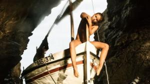 Marisa Papen, en una de les fotografies a la Costa Brava