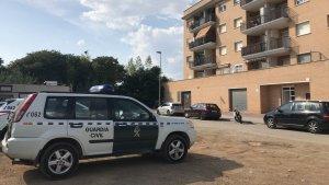 Operació antidroga de la Guàrdia Civil en un domicili de Torredembarra