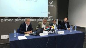 Presentació de l'informe Estats Comptables de les pimes de Tarragona