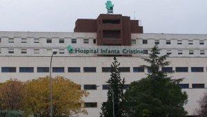 En el Hospital Infanta Cristina fueron atendidos algunos de los heridos del fin de semana en Badajoz.