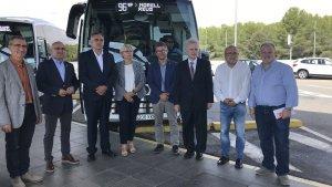 Responsables de Territori, el delegat del govern i els regidors de Mobilitat de Reus i Tarragona han presentat la nova oferta aquest dilluns al migdia.