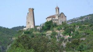 Santa Perpètua de Gaià, al capdamunt de la vall