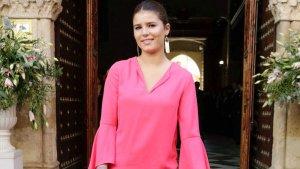 Tana Rivera en la boda de Sibi Montes