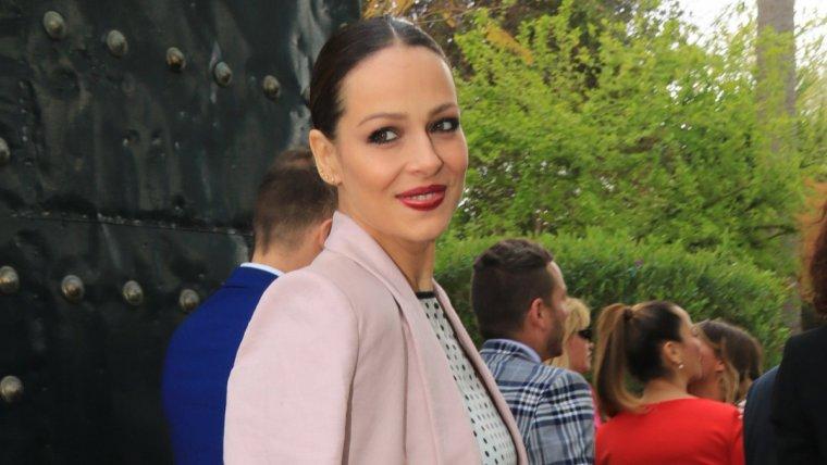 Eva González, presentadora de 'Masterchef Celebrity', de TVE.