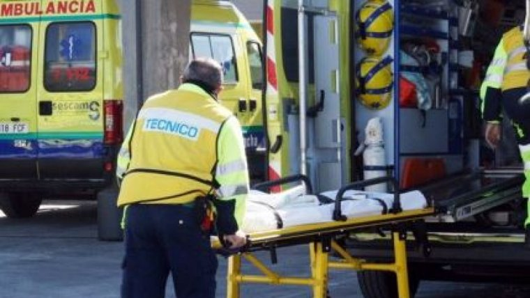 Imagen de una ambulancia Castilla La Mancha