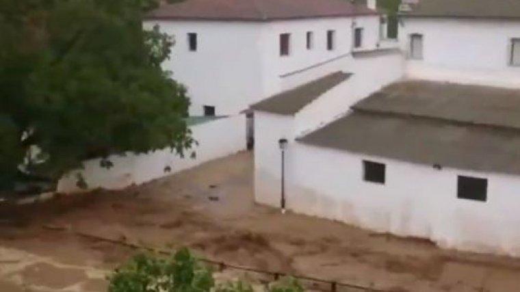 Inundación en Setenil, Cádiz