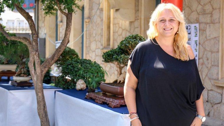 Montserrat Caelles, regidora de Cultura de l'Ajuntament de Reus, a la Casa Rull