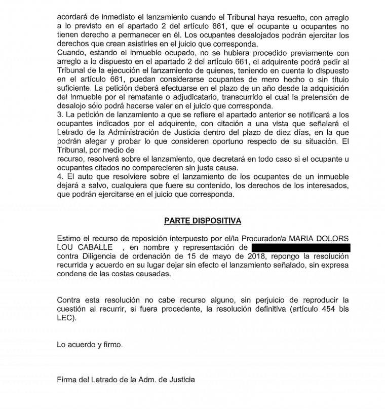 Un decret judicial de El Vendrell qüestiona la majoria de les execucions hipotecàries