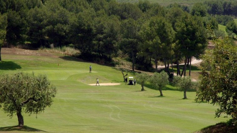 Vista del Golf Costa Dorada