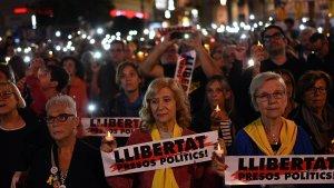 A Reus, unes 1.500 persones s'han mobilitzat a la Plaça Prim