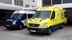 Ambulancia Baztan-Bidasoa y DYA Navarra, en una imagen de archivo