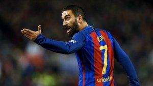 Arda Turan, amb la samarreta del Barça, podria ingressar a presó