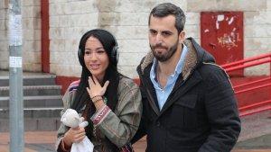 Aurah Ruiz a su llegada al juicio por calumnias e injurias a Jesé Rodríguez