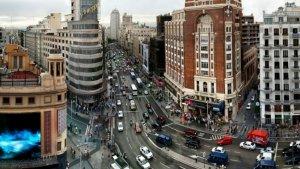 Calles del centro de Madrid, en una imagen de archivo