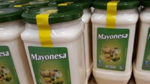 Captura de una publicación sobre el bulo de la mayonesa de Mercadona