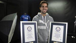 Cesc Fàbregas entra al llibre Guinness dels Rècords per les seves assistències