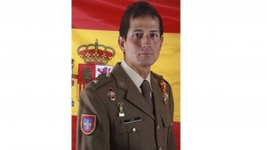 Comandante Fernando Yarto Nebreda, fallecido luego de recibir un disparo fortuito en ejercicios de tiro en Jaca, Huesca.