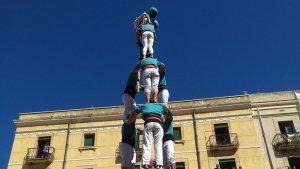 Detall del 3 de 8 dels Castellers de Sant Pere i Sant Pau.