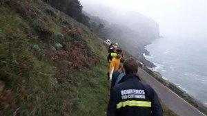 Dos jóvenes son rescatadas en el monte Buciero de Santoña