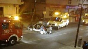 El accidente en el que resultó una persona muerta y un herido ocurrió en Ferrol.