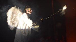 El ball parlat va acabar amb la baixada de l'arcàngel Sant Gabriel
