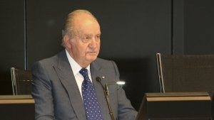 El emérito rey Juan Carlos I