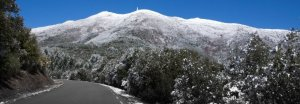 El Montseny podria llevar-se nevat el diumenge