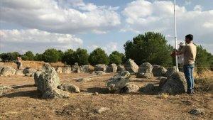 El monumento megalítico o crómlech descubierto en Totanés