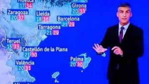 El nou mapa del temps a TVE