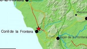 El seísmo de 4,0 tuvo como epicentro la localidad gaditana de Conil de la Frontera