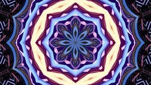 El símbolo del mandala se usa con frecuencia para colorear y dibujar.