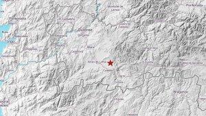 El terremoto tuvo su epicentro en la localidad de Sarreaus