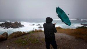 El viento y la lluvia seguirán siendo protagonistas este inicio de puente de Todos los Santos