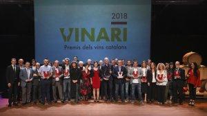 Els Premis Vinari 2018 es van atorgar aquest divendres, 5 d'octubre