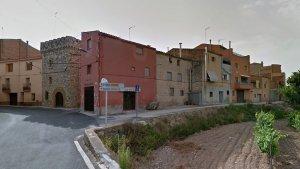Entrada al municipi d'Aiguamúrcia, a l'Alt Camp.