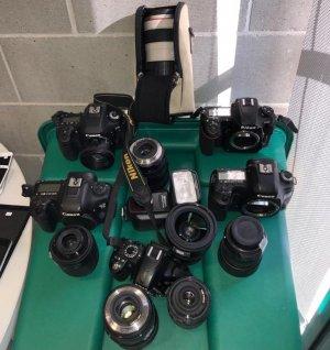 Entre els objectes robats hi havia càmeres fotogràfiques