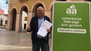 Fèlix Alonso ja ha recollit molts més avals del mínim per a presentar-se a les primàries de Catalunya en Comú d'Altafulla.