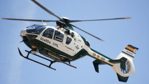 Imagen de archivo de un helicóptero de la Guardia Civil