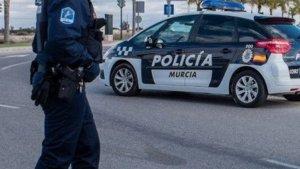 Imagen de la policía de Murcia.