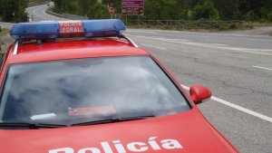 Imagen de una patrulla de la Policia Foral de Navarra