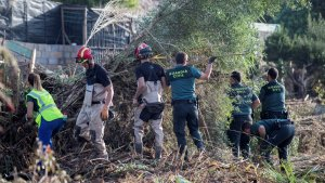 Imagen del operativo de rescate desarrollado en Mallorca para localizar a Arthur
