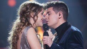Imatge d'Alfred i Amaia durant un dels concerts de la gira d''OT'