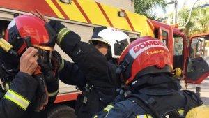 Imatge d'arxiu d0un grup de bombers de Castelló