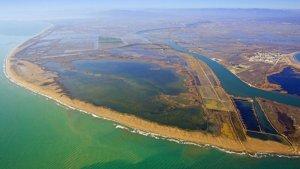 Imatge d'arxiu de l'Illa de Buda al Delta de l'Ebre