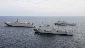 Imatge d'arxiu de vaixells de l'Armada espanyola