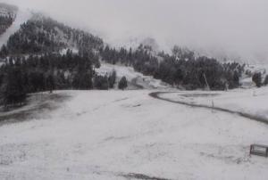 Imatge de la neu a Espot
