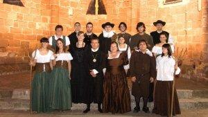 Imatge del primer any del grup de teatre 'La Resclosa'.